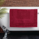 Essentials Nova Bath Mat Wine