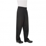Chef Works Unisex Basic Baggy Chefs Trousers Black 5XL