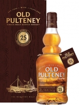 Old Pulteney - 25 Year Old (70cl Bottle)