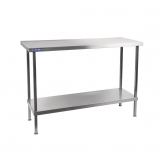Holmes Self Assembly Stainless Steel Centre Table 600mm