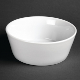 Olympia Whiteware Sloping Edge Bowls 150mm (Pack of 12)