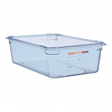 Aravan ABS Food Storage Container Blue GN 1/1 150mm