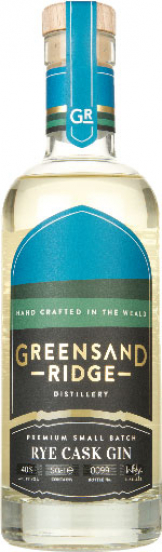 Greensand Ridge - Rye Cask Gin (50cl Bottle)