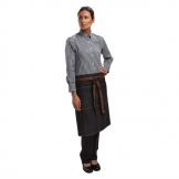Chef Works Urban Memphis Bistro Apron Black
