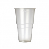 eGreen Disposable Pint Glass 20oz To Line (Pack of 1000)