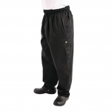 Chef Works Mens J54 Cargo Trousers Black S