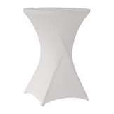 ZOWN Cocktail80 Table Stretch Cover White