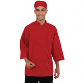 Chef Works Unisex Chefs Jacket Red 3XL