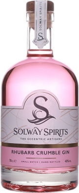 Solway - Rhubarb Crumble Gin (70cl Bottle)