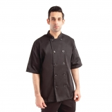 Chef Works Chambery Unisex Chefs Jacket Black 2XL