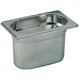 Bourgeat Stainless Steel 1/9 Gastronorm Pan 100mm