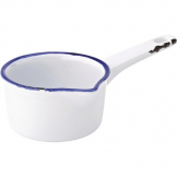 Utopia Avebury Blue Milk Pan 95mm (Pack of 12)