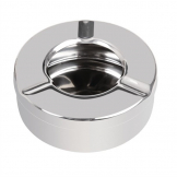 Olympia Stainless Steel Windproof Ashtray 90mm (Pack of 6)