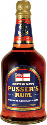Image of Pussers - Pussers Blue Label Original Admiralty Rum