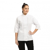 Chef Works Cool Vent Verona Womens Chefs Jacket White M