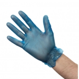 Vogue Powdered Vinyl Gloves S (Pack of 100)