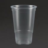 eGreen Disposable Pint Glasses CE Marked 570ml / 20oz (Pack of 1000)
