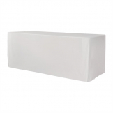 ZOWN XL150 Table Plain Cover White