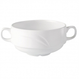 Steelite Alvo Handled Soup Bowls 284ml