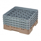 Cambro Camrack Beige 30 Compartments Max Glass Height 215mm