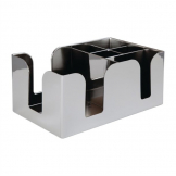 Beaumont Bar Caddy Chrome