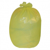 Jantex Large Medium Duty Yellow Bin Bags 90Ltr (Pack of 200)