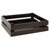 APS Superbox Buffet Crate Black GN1/2