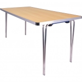 Gopak Contour Folding Table Beech 5ft