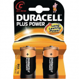 Duracell C Batteries (Pack of 2)