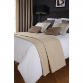 Luxury Deco Bed Runner Biscuit Delano Single