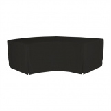 ZOWN XLMoon Table Plain Cover Black