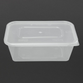 Premium Takeaway Food Containers With Lid 750ml / 25oz (Pack of 250)