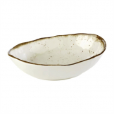 APS Stone Art Oval Bowl 285mm length
