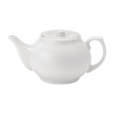 Utopia Pure White Teapots 430ml (Pack of 12)