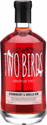 Two Birds - Strawberry And Vanilla Gin (70cl Bottle)