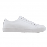 Shoes for Crews Mens Old School Trainer White Size 39