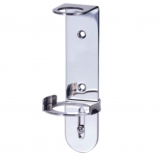 Stainless Steel Wall Bracket for 250 / 300ml Bottles - Single