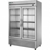 True 2 Glass Door Foodservice Upright Refrigerator T-49G