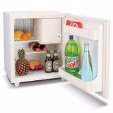 Dometic Classic Silent Hotel Room Solid Door Fridge 54 Litre White EA0600 (with Freezer Compartment)
