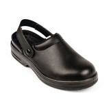 Lites Unisex Safety Clogs Black 39
