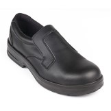 Lites Safety Slip On Black 39