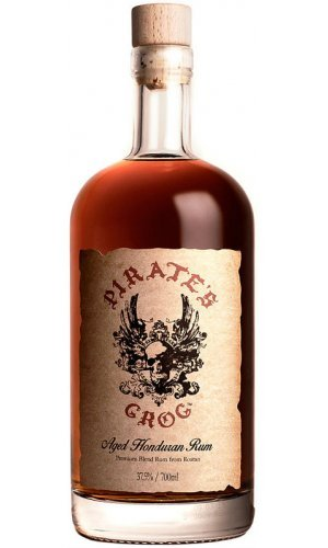 Pirates Grog - Aged Honduran 5 Year Old Rum (70cl Bottle)