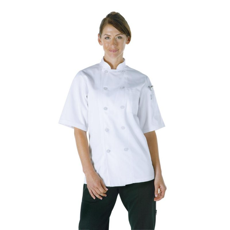 Chef Works Unisex Volnay Chefs Jacket White L