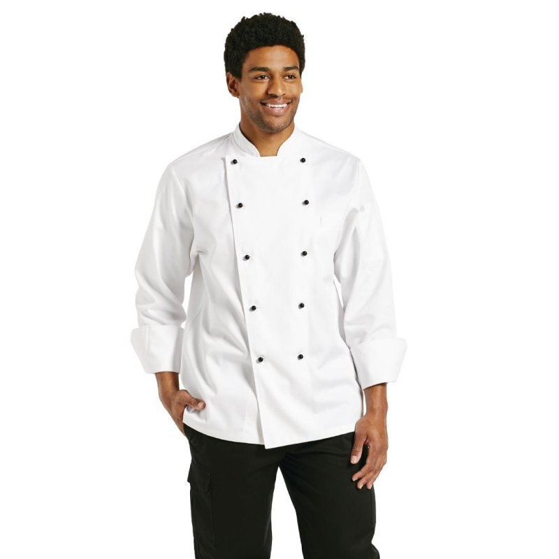 Chef Works Chaumont Unisex Chefs Jacket Long Sleeve S