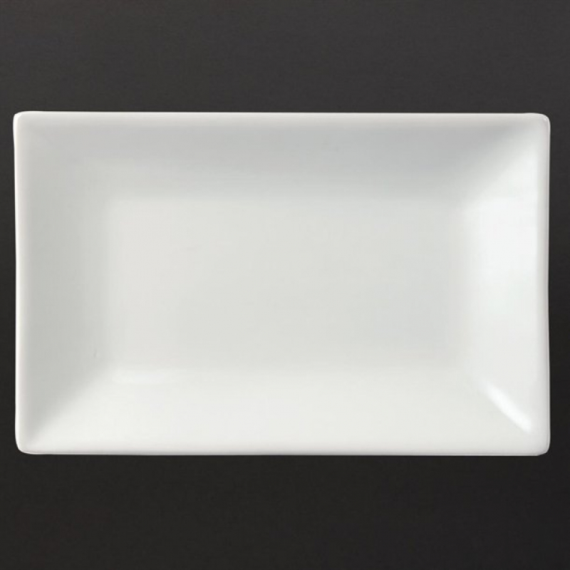 Olympia Serving Rectangular Platters 200x 130mm (Pack of 6)