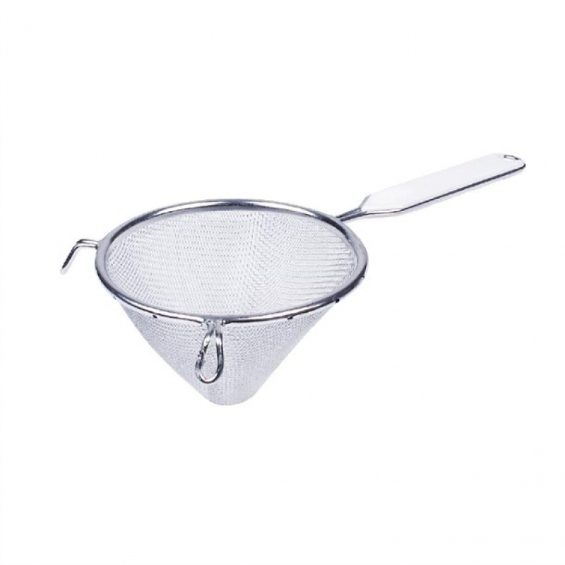 Tinned Conical Strainer 14cm
