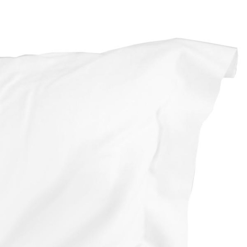 100% Cotton 400 TC Oxford Pillowcases White (Pair)