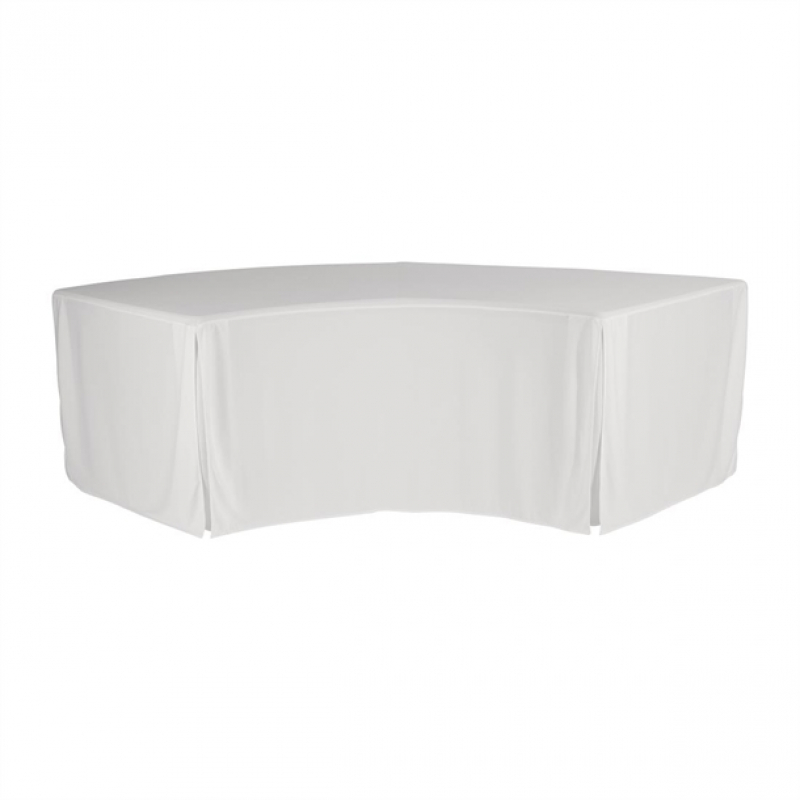 ZOWN XLMoon Table Plain Cover White