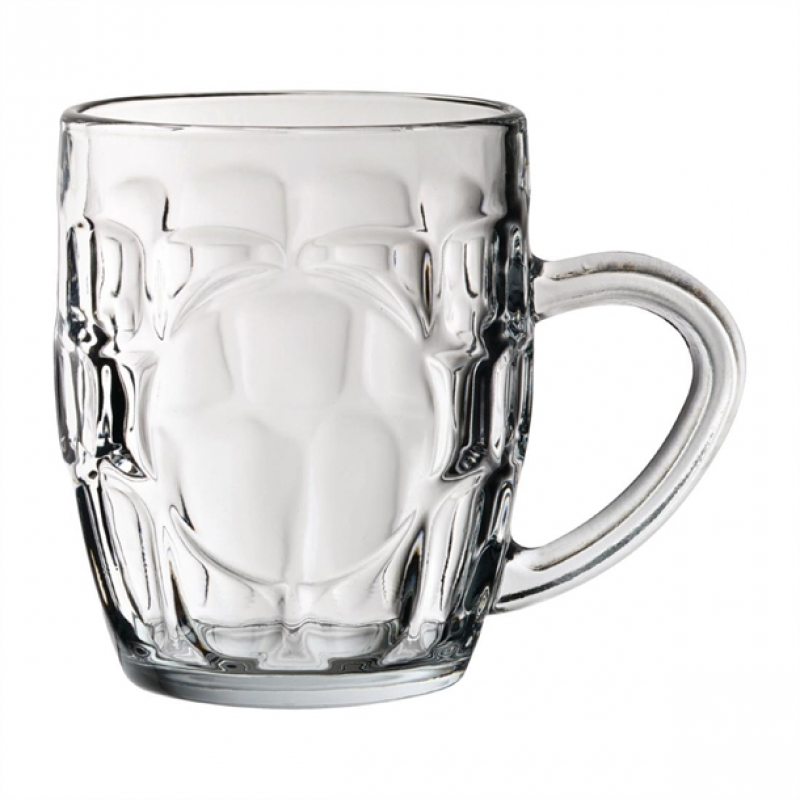 Utopia Dimple Panelled Tankards 290ml (Pack of 36)
