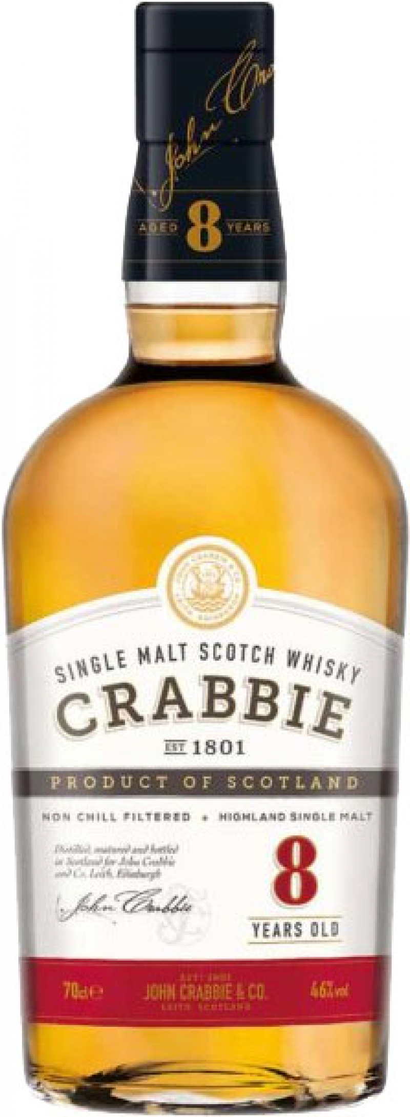 Crabbies - 8 Year Old (70cl Bottle)